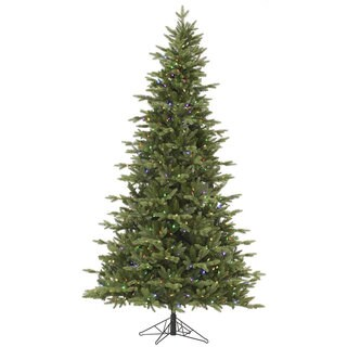 7.5-foot Fresh Balsam Fir Tree with 750 Multi LED Lights