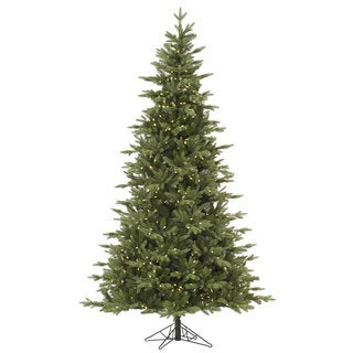 7.5-foot Fresh Balsam Fir Tree with 750 Warm White LED Lights