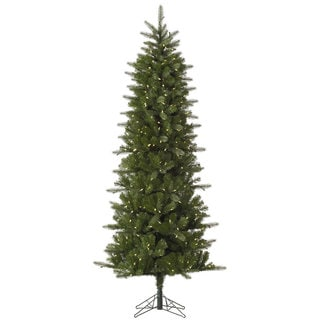 9-foot Carolina Pencil Spruce Tree with 500 Warm White LED Lights