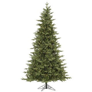 9-foot Fresh Balsam Fir Tree with 1050 Warm White LED Lights