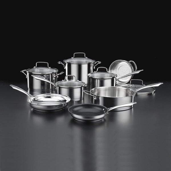 Cuisinart 89-13 Professional 13-Piece Stainless Cookware Set