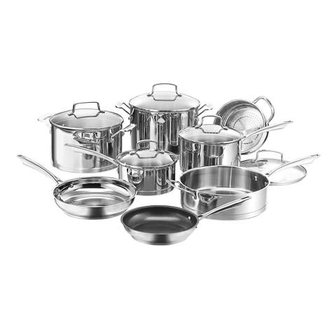 Cuisinart 89-13 Professional 13-Piece Stainless Cookware Set
