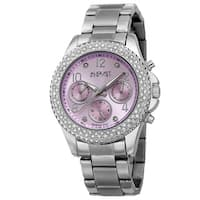 August Steiner Women's AST8136LP Swiss Quartz Diamond Bracelet Watch