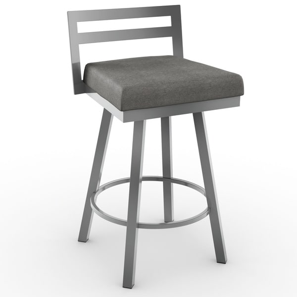 Amisco Derek Counter Swivel Metal Stool 26-inch - Free Shipping Today - Overstock.com - 16785470  sc 1 st  Overstock.com & Amisco Derek Counter Swivel Metal Stool 26-inch - Free Shipping ... islam-shia.org