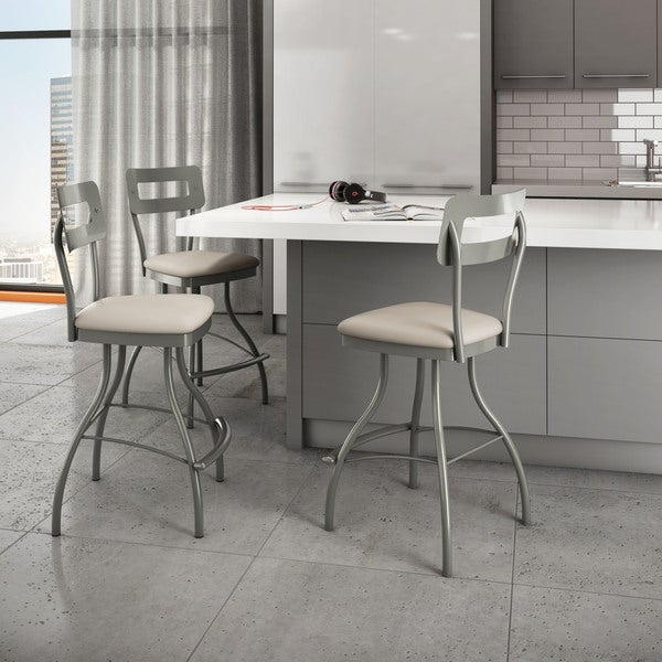 Shop Amisco Cora Bar Stool Swivel Metal 30 Inch Free