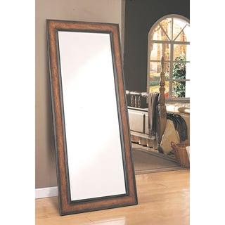 Coaster Company Long Antique Framed Floor Mirror