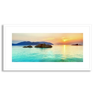 Gallery Direct Olga Khoroshunova's 'Ocean Sunrise' Framed Paper Art