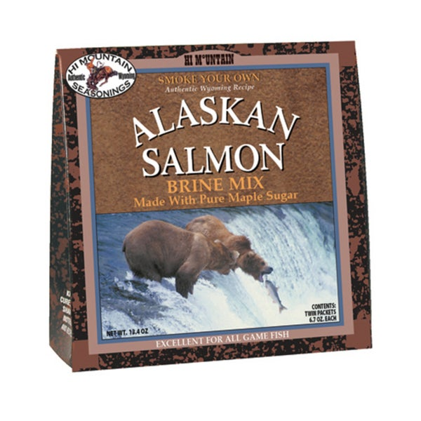Hi Mounain Seasoning's Alaskan Salmon Brine Mix