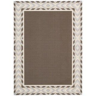 Waverly Sun N' Shade Full Of Zip Espresso Area Rug by Nourison (10' x 13')
