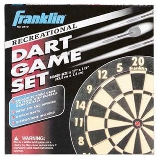 Franklin Sports Paper Dartboard