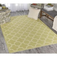 Waverly Sun N' Shade Full Of Zip Poppy Indoor/ Outdoor Area Rug by Nourison