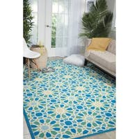 Waverly Sun N' Shade Starry Eyed Porcelain Indoor/Outdoor Area Rug - 10' x 13'