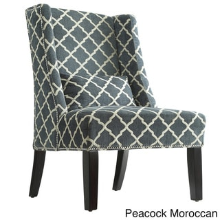 Dorchester Wingback Nail Head Accent Chair by Inspire Q