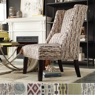 Dorchester Wingback Nail Head Accent Chair