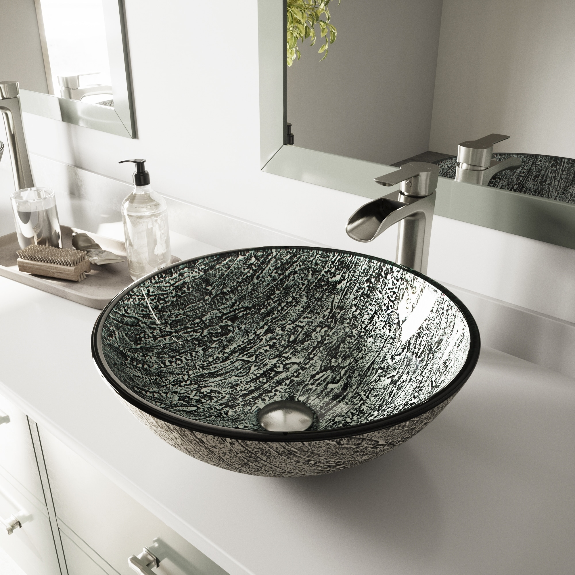 Buy silver finish bathroom sinks online at overstock our best sinks deals