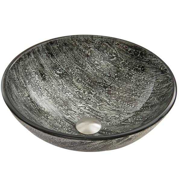 vigo titanium glass vessel sink - Kitchen Sink Titanium