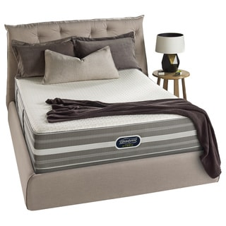 Beautyrest Hybrid Gibson Circle Luxury Firm Cal King-size Mattress Set