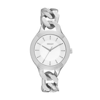 DKNY Women's NY2216 'Chambers' Twisted Bracelet Watch
