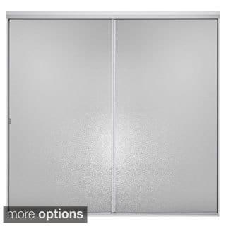Standard Silver Bypass Tub Door