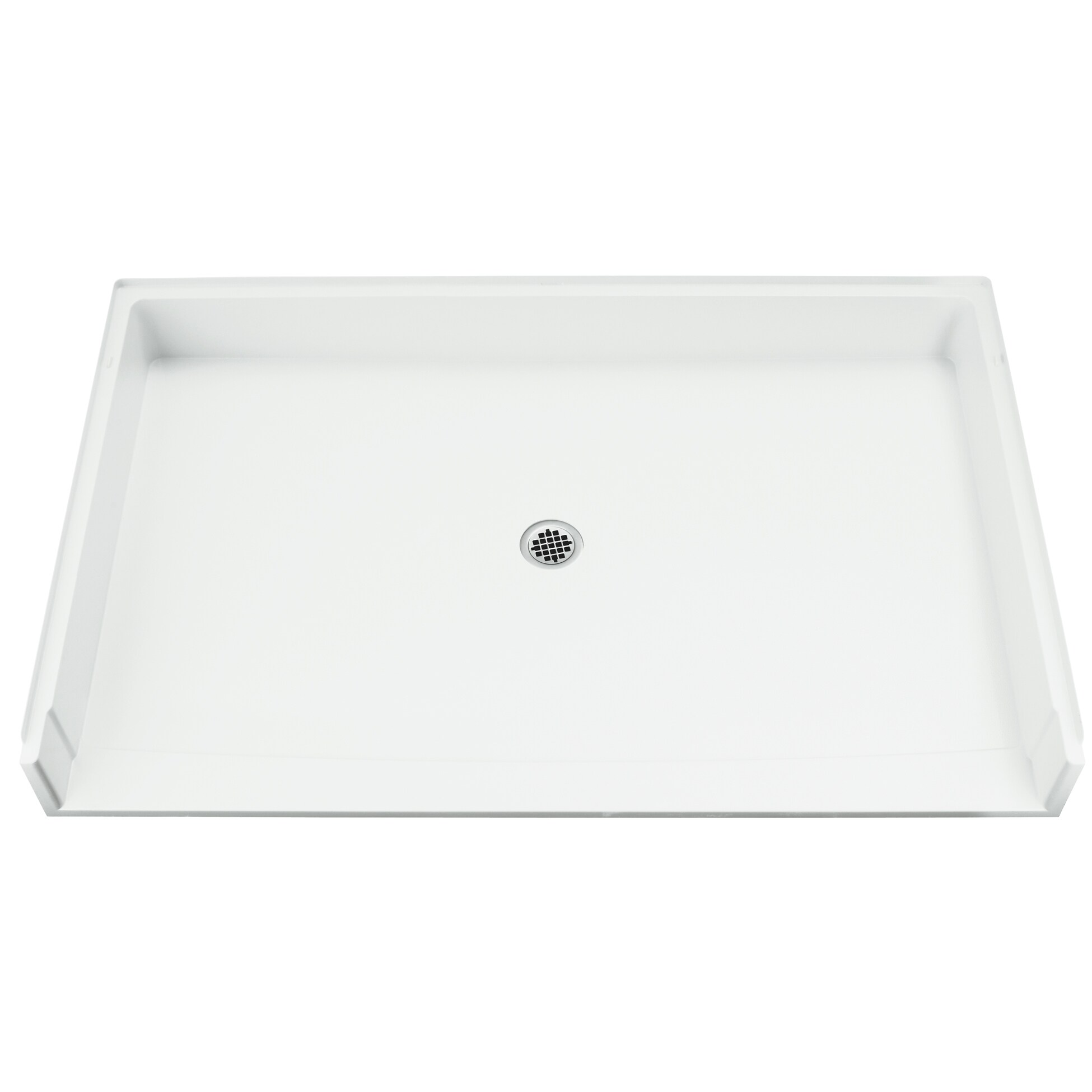 Sterling Roll-in White Single Threshold Shower Receptor