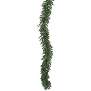 9-foot x 14-inch Imperial Garland Dura-Lit with 100 Clear Lights