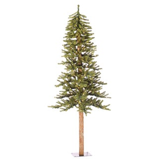 Natural Alpine 6-foot x 36.5-inch 657 Tips Tree with 250 Clear Lights