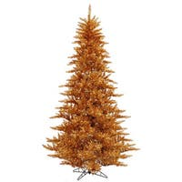 6.5-foot x 46-inch Copper Fir with 600 Clear Lights, 1216 Tips