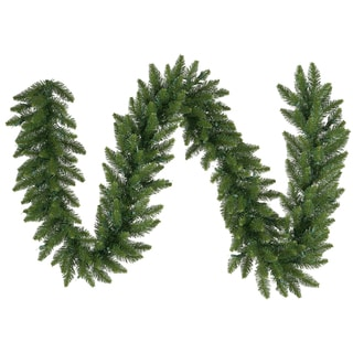 9-foot x 20-inch Camdon Fir Garland 320 Tips