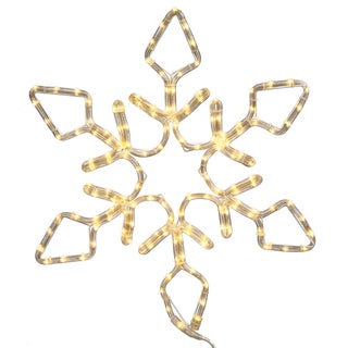 72-inch LED 416-light Pure White Diamond Snowflake