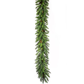 """50' x 16"""" Commercial Cheyenne Pine Artificial Christmas Garland - Unlit"""