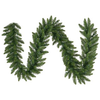 25-foot x 20-inch Camdon Fir Garland 900 Tips