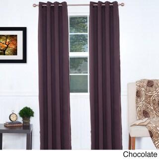 Lavish Home 84-inch Blackout Curtain Panel Pair