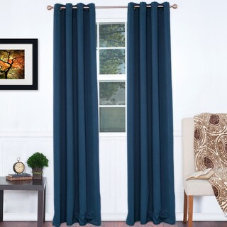 Windsor Home Lavish Home 84-inch Blackout Curtain Panel Pair