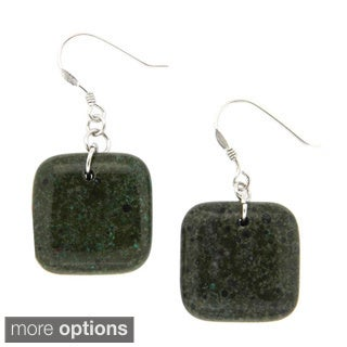 Pearlz Ocean Forest Jasper Earrings