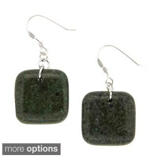 Pearlz Ocean Forest Jasper Earrings