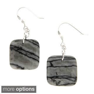 Pearlz Ocean Zebra Jasper Earrings|https://ak1.ostkcdn.com/images/products/9600885/P16786260.jpg?impolicy=medium
