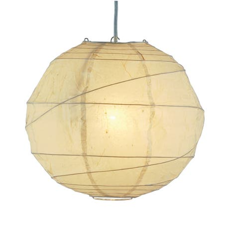 Orb 1-light Swag Plug-in Pendant
