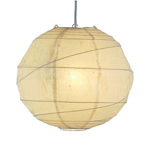 Orb 1-light Swag Plug-in Pendant (3 options available)