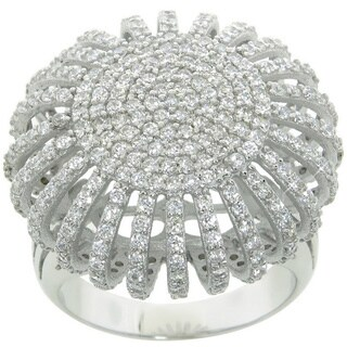 Eternally Haute 3.5 Carat TW Pave Ottoman Cocktail Ring (2 options available)