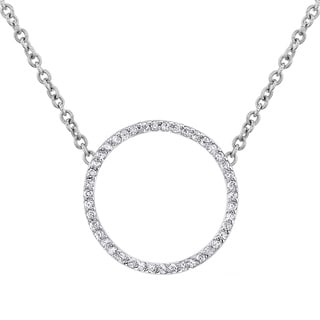 Victoria Kay Gold and Diamond Circle of Life Necklace