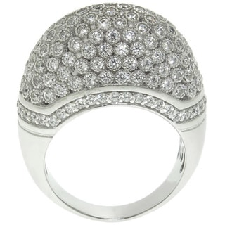Eternally Haute 2.25ct TW Pave Domed Cocktail Ring