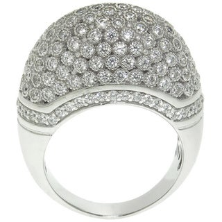 Eternally Haute 2.25ct TW Pave Domed Cocktail Ring (2 options available)