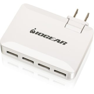 IOGEAR GearPower QuadSmart USB 4.2A Wall Charger