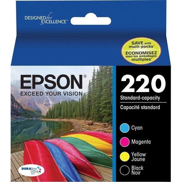 Epson DURABrite Ultra 220 Original Ink Cartridge Combo Pack - Black,