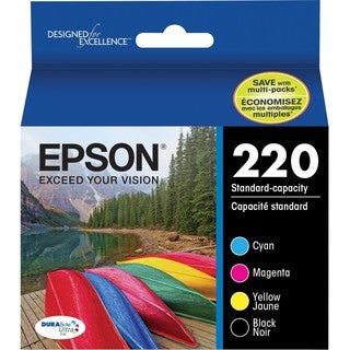 Epson DURABrite Ultra Ink 220 Original Ink Cartridge Combo Pack - Bla