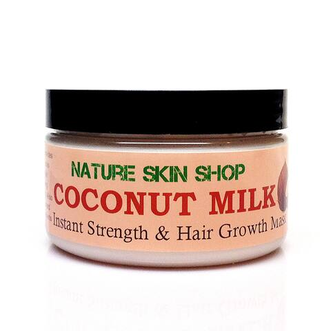 Handmade Coconut Milk Instant Strength and Hair Growth Mask