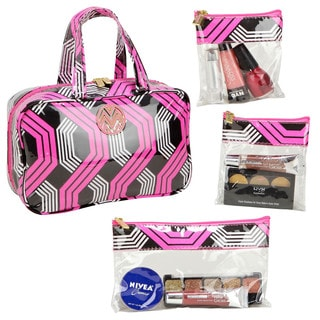 The Macbeth Collection Tyler Pop MJ Cosmetic Bag with 3-Removable Compartments
