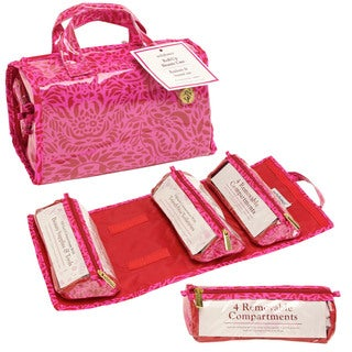 SedaFrance Molee Valentine Four-Compartment Travel Roll-Up Bag