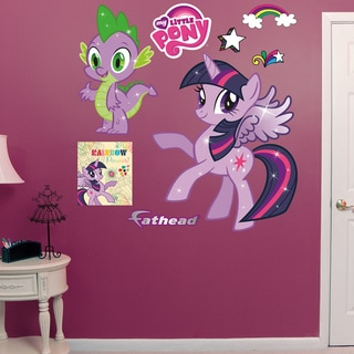 Fathead Twilight Sparkle & Spike My Little Pony Wall Decals