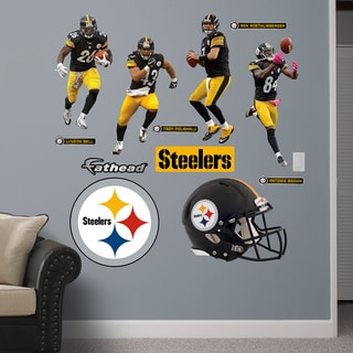 Fathead Pittsburgh Steelers 2014 Power Pack Wall Decals